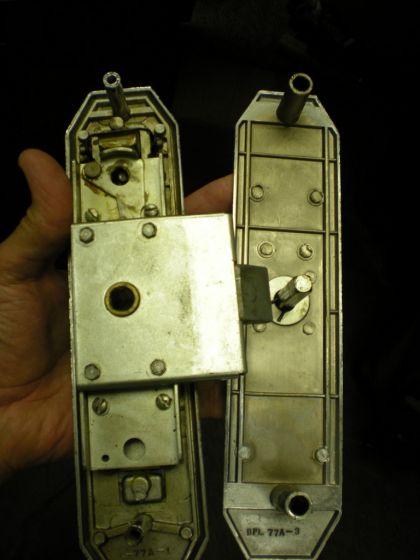 Bargman L 77 Door Lock With Two Keys