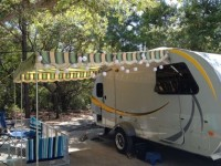 2 AWNINGS FOR AIRSTREAM (VINTAGE STYLE)