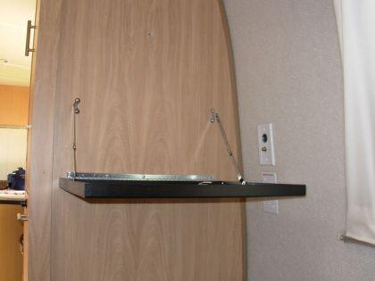 Bedroom TV Shelf