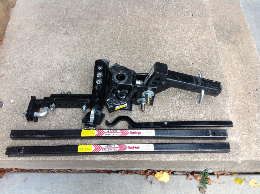 Honda Kansas City >> Equalizer Hitch (Almost New) used 600 miles