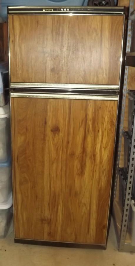 Two Door Sanyo Rv Refrigerator