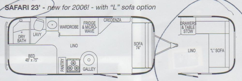 2007 Airstream Safari Se 23 Florida