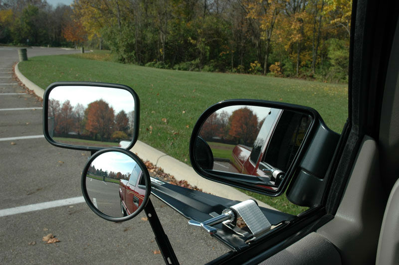 Vehicle Towing Mirrors : Mckesh portable towing mirrors