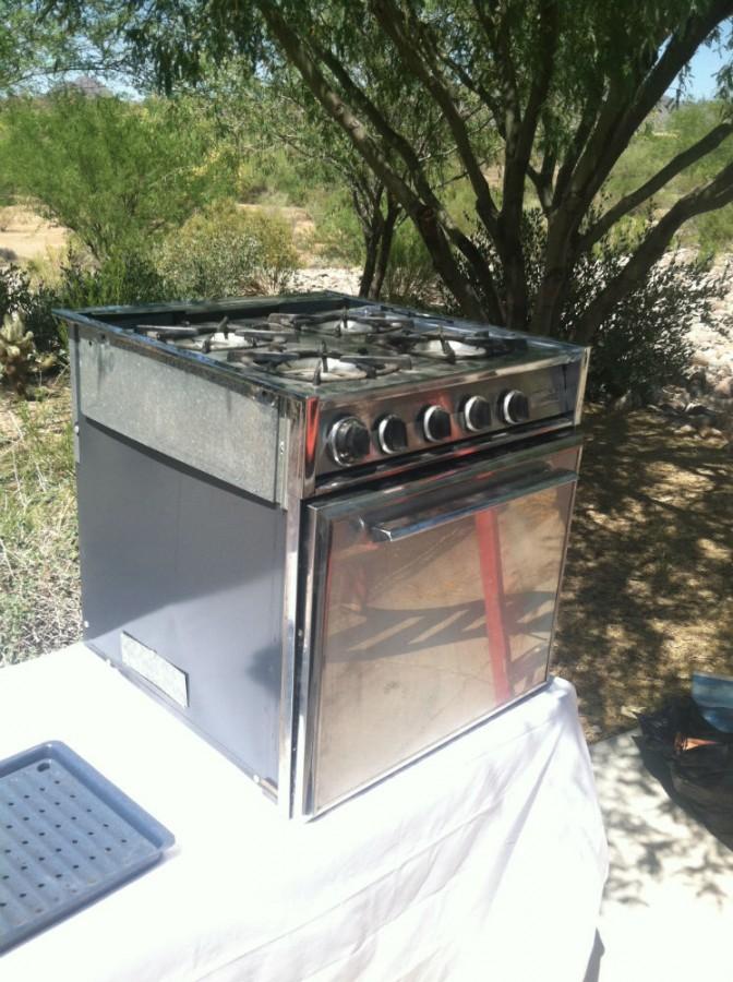 u002771 23u2032 safari twin magic chef ovenstove - Magic Chef Oven