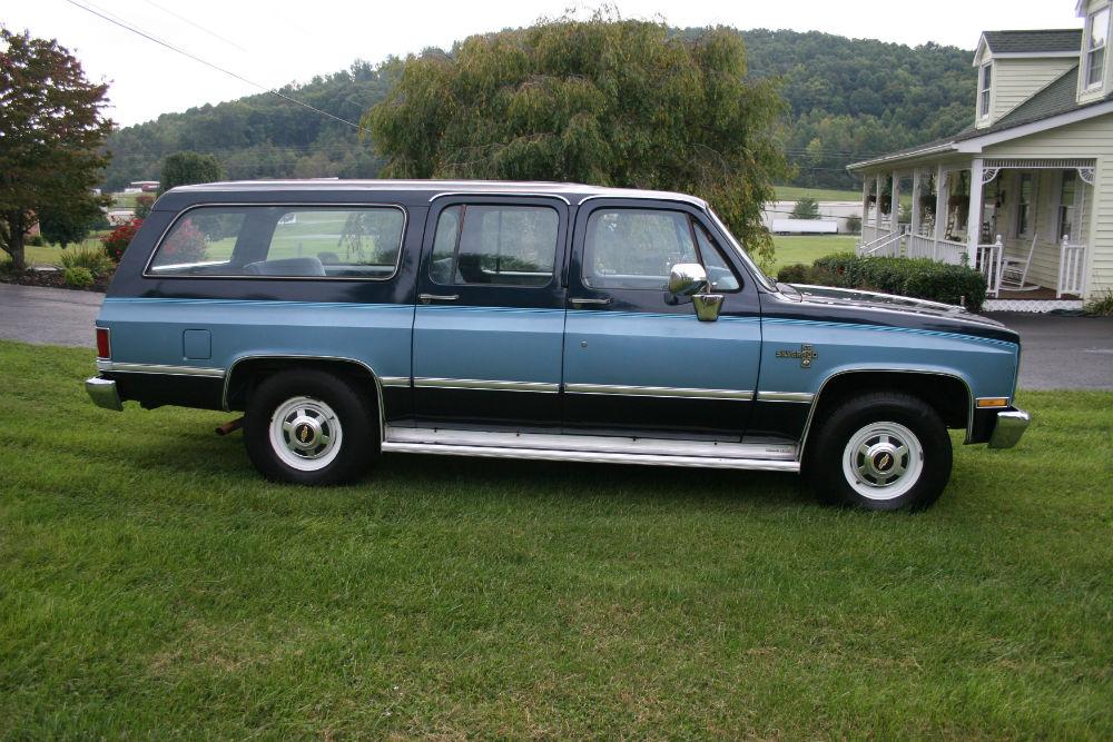 1986 Chevrolet Suburban Silverado 20