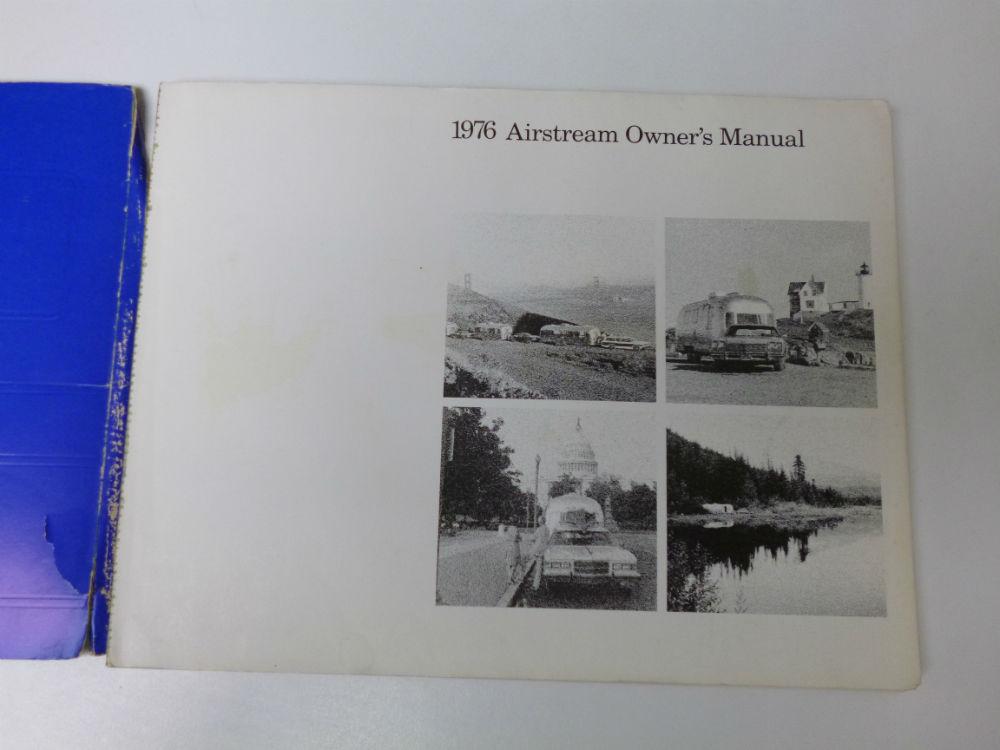 airstream 1976 original service manual owner s manual good cond rh airstreamclassifieds com 1976 airstream owners manual 1976 Airstream Interior