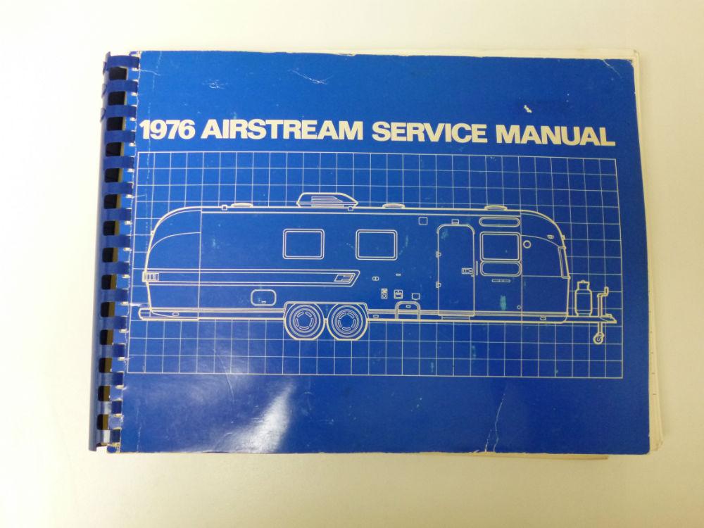 airstream 1976 original service manual owner s manual good cond rh airstreamclassifieds com