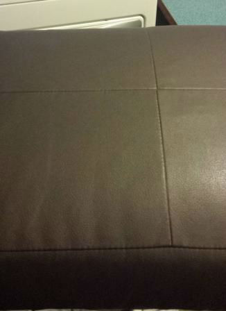 2014 Airstream Serenity Ultra Leather Cushions