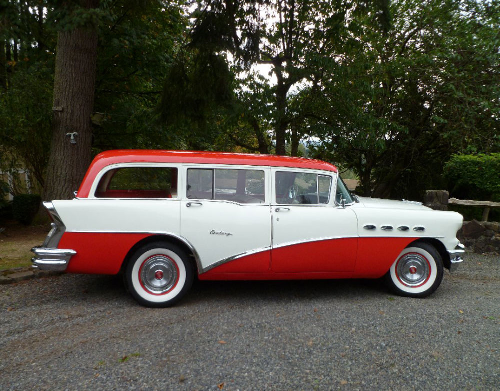 1956 buick century wagon set up for towing. Black Bedroom Furniture Sets. Home Design Ideas