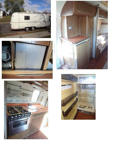 76 Argosy Parts Cabinets Curtains Furnace Amp Fridge