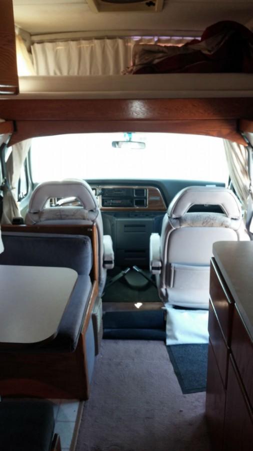 Ford Passenger Van >> 1991 Airstream 190 B Van 19 - Texas