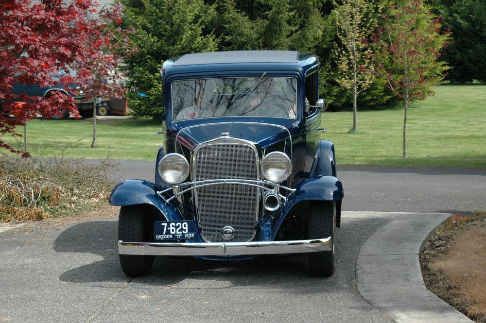 TRADE MY 1932 2 door sedan for 25\' Airstream