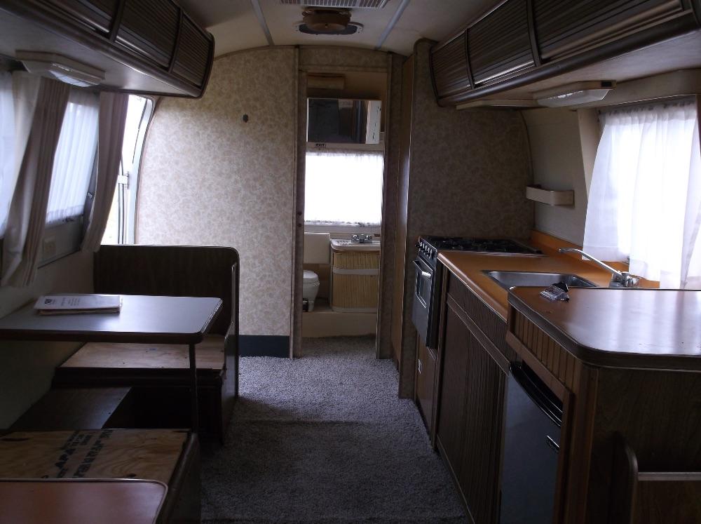 1977 airstream argosy rear door 24 florida - Airstream replacement interior panels ...
