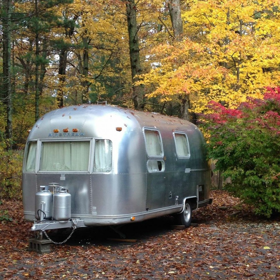 Airstream: 1975 Airstream 21' Globetrotter For Parts