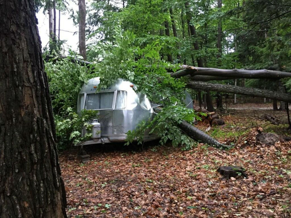 1975 Airstream 21 Globetrotter For Parts