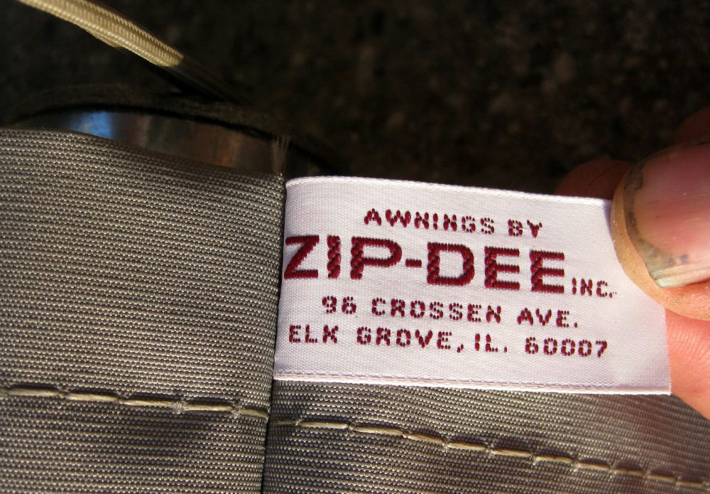 New Zip Dee 45 Quot Window Awning For Front Rear Streetside