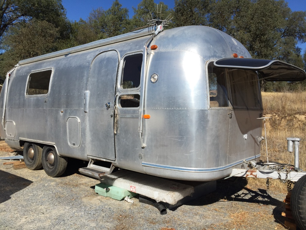 Gutted Airstreams, ready for you to customize!!!