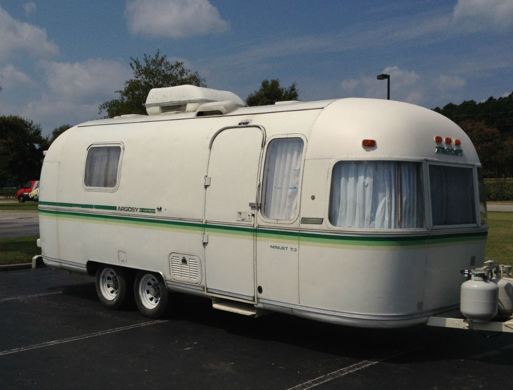 1979 airstream argosy minuet north carolina. Black Bedroom Furniture Sets. Home Design Ideas