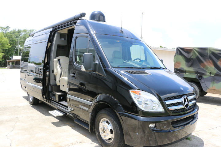 Image gallery 2012 airstream interstate 3500 for Mercedes benz airstream