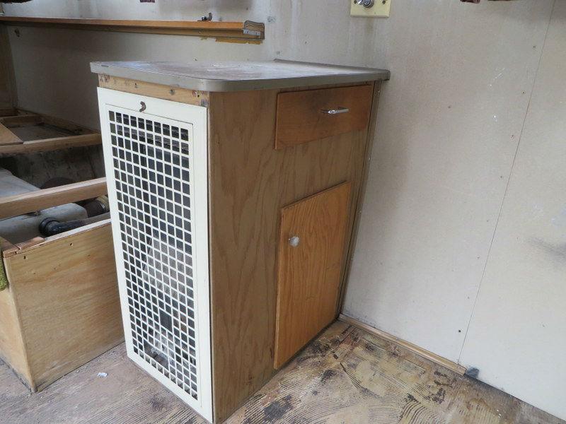 1964 Airstream Wall LP gas heater