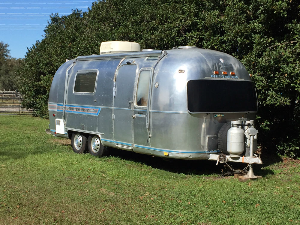 1978 airstream safari 23 florida. Black Bedroom Furniture Sets. Home Design Ideas