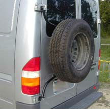 Outside Rear Tire Mount Brand New