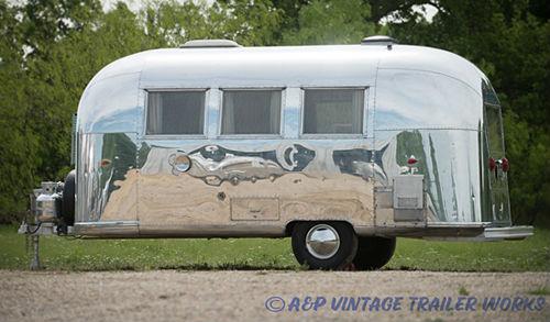 1964 Airstream At AP Vintage Trailer Works