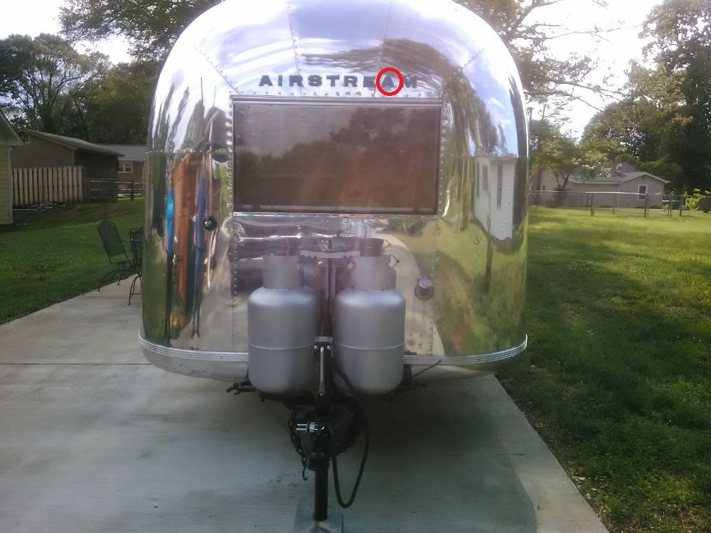 Exterior Airstream Letters For 1966 Overlander