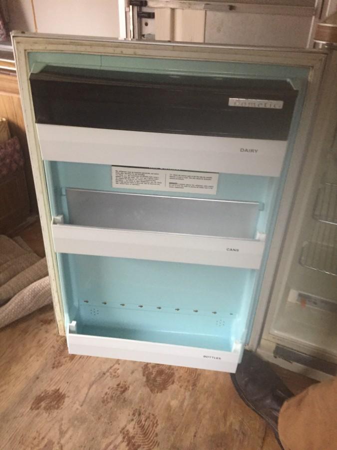 Hemnes cabinet with glass doors