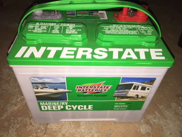 Batteries 2 New Interstate Batteries