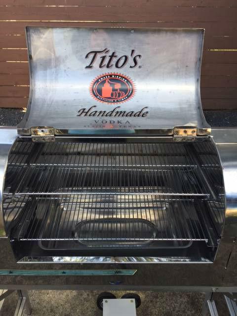 Rare Tito S Custom Airstream Grill
