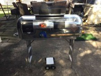 Rare Tito's Custom Airstream Grill