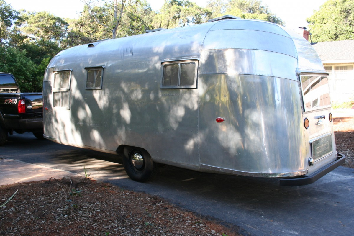 1955 airstream flying cloud 22 california rh airstreamclassifieds com Vintage Airstream 1953 Airstream 40