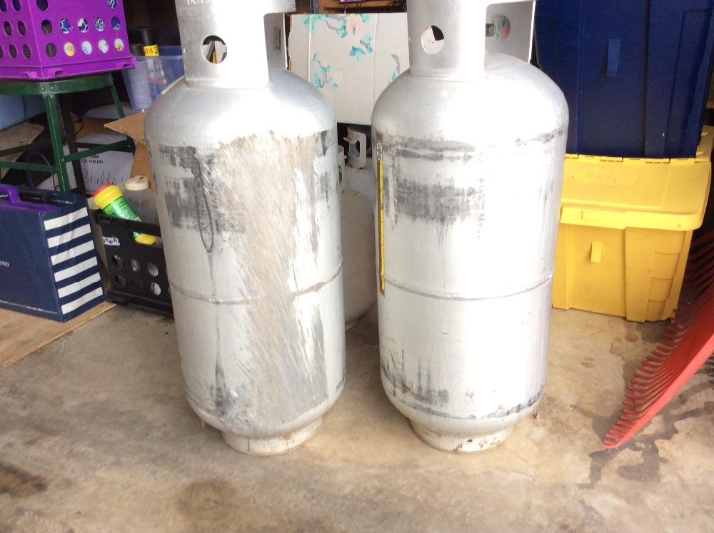 40 Lb Aluminum Propane Tanks