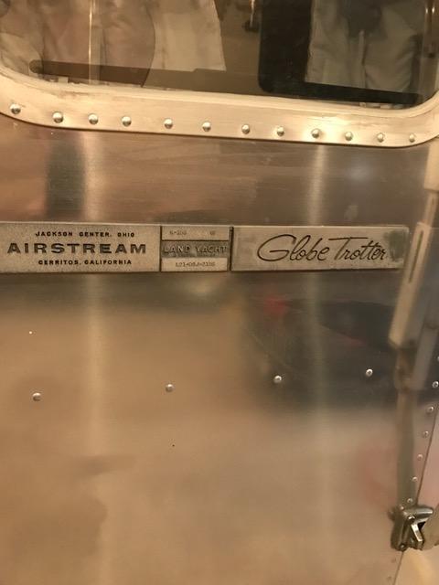 1976 airstream globetrotter 21 michigan for 1976 airstream floor plans