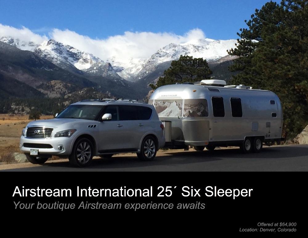 2008 Airstream International CCD 25 - Colorado