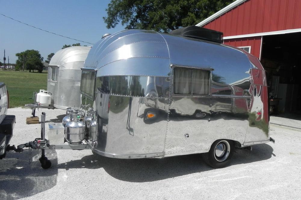 1956 Airstream Bubble 16 New Mexico