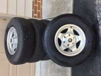 15″ Airstream wheels–4 +spare