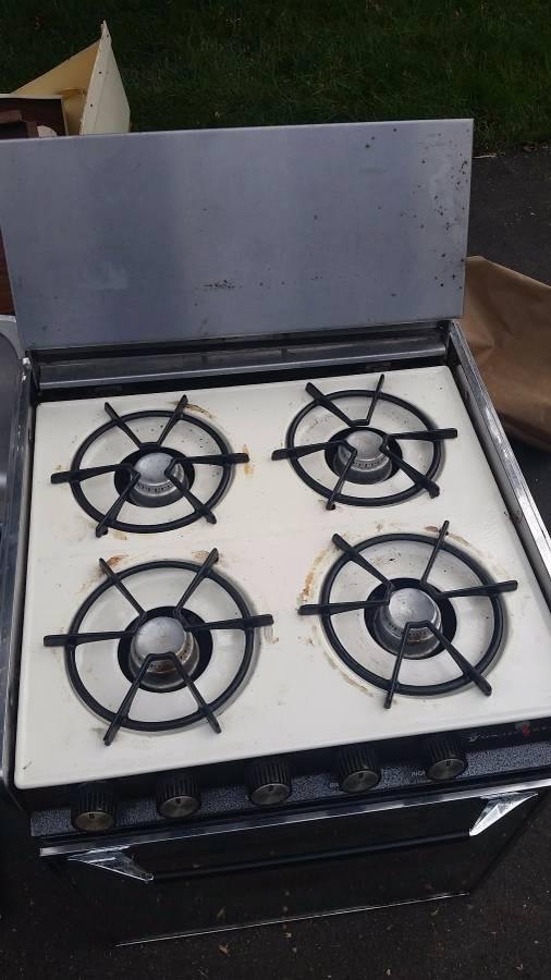 Magic Chef Rv Range Oven Stove 150