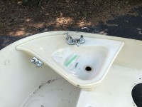 Original Tub and Sink for 1960s Airstream