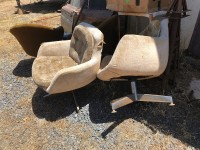 Chairs for sale, swiveling lounge/club type