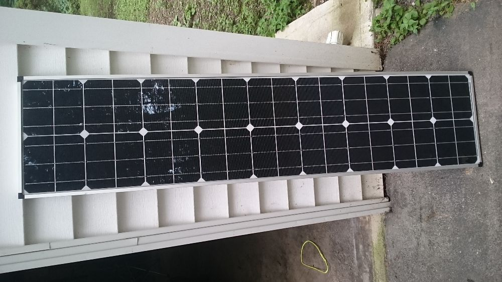 80 Watt Zamp Solar Panel Off 2017 Airstream
