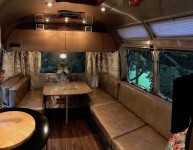 Airstream Vinyl Cushions: Dinette  + Couch (Recovered custom – great condition)