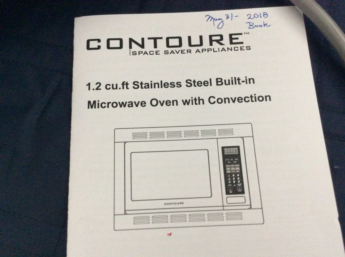 2018 Contoure 1 2 Cu Ft Stainless Steel Built In Microwave
