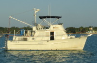 Trade 36' Monk trawler for 25' Airstream