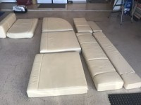 Full set of cushions for a 25' Classic