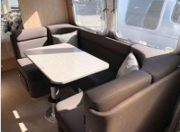 Airstream dinette & table – 2019 Flying Cloud