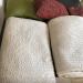 Cream comforter