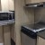 Galley with microwave and propane stove/oven