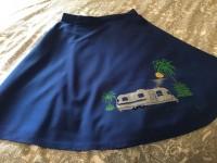Custom Handpainted Airstream Skirt